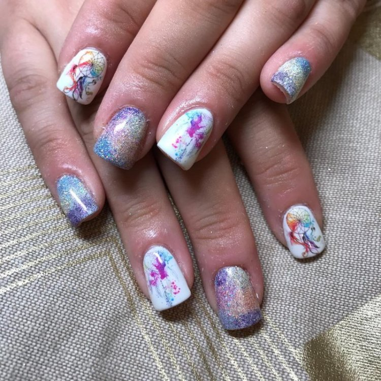 The Best And Most Comprehensive Dream Catcher Nail Art