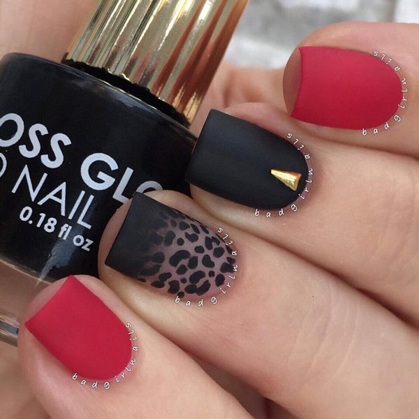 Home Gardening Design Ideas: 40 Cool Matte Nail Art Designs You Need To Try Right Now