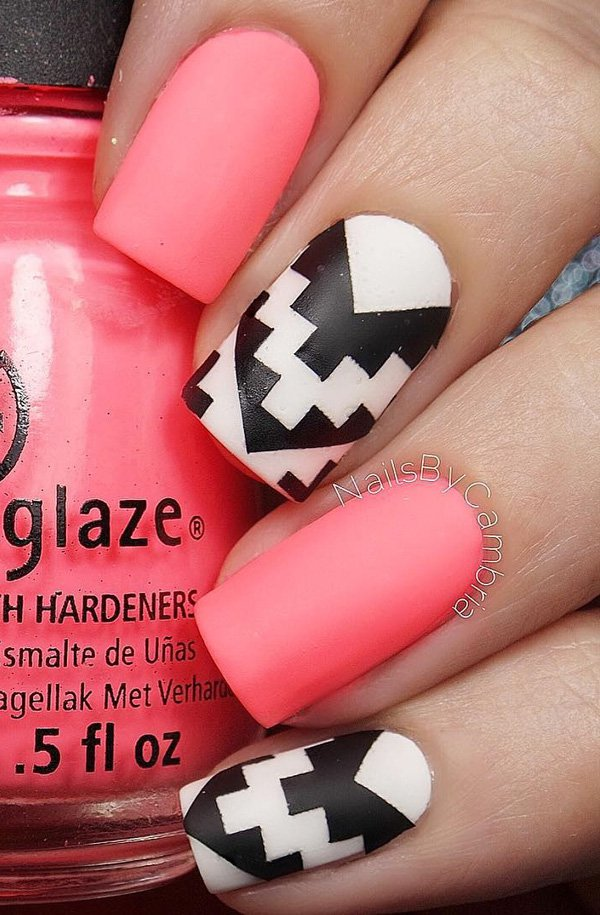 40 Cool Matte Nail Art Designs You Need To Try Right Now 187 Ecstasycoffee