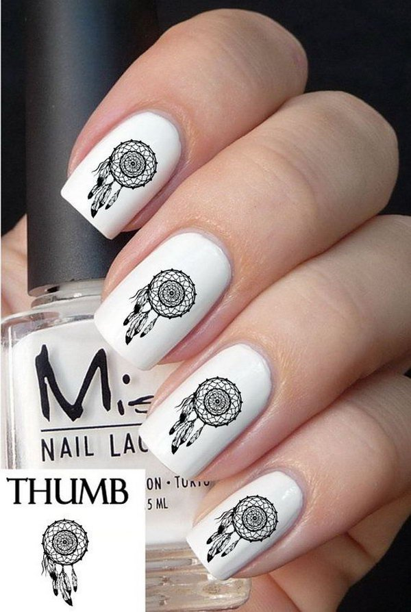 Art Designs: 40 Inspirational Nail Art Inspired By Native American
