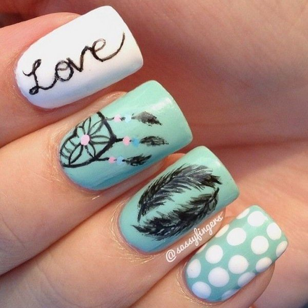 13 Nail Art Ideas For Teeny Tiny Fingertips Photos: 40 Inspirational Nail Art Inspired By Native American