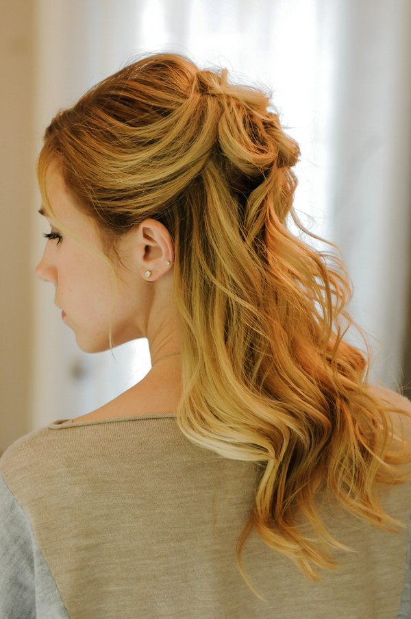 30 Fashionable Half Up Half Down Hairstyles To Make You