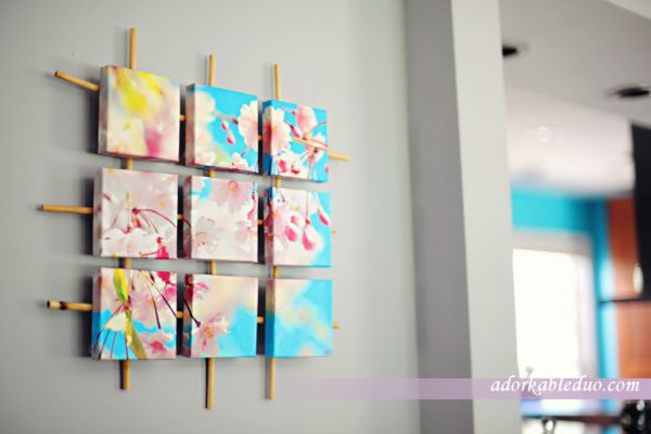 Sectioned Canvas Wall Art