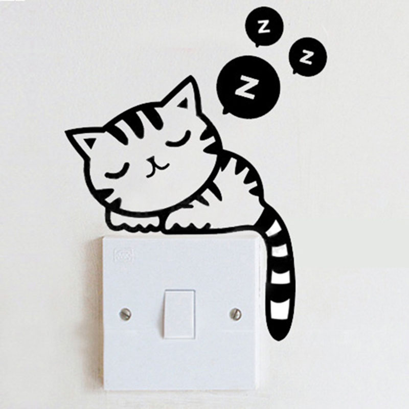 Cute Small House Designs: 16 Cheap Ways To Decorate Light Switch Plates » EcstasyCoffee