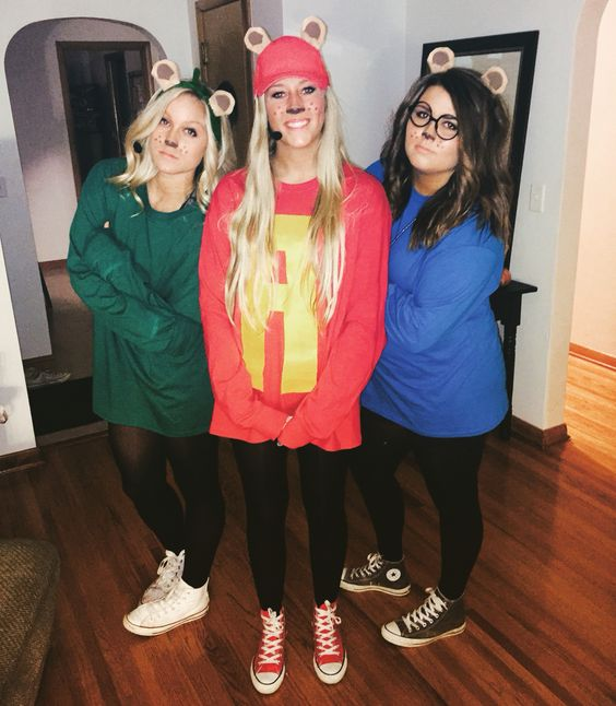 50 Bold And Cute Group Halloween Costumes For Cheerful Girls ...