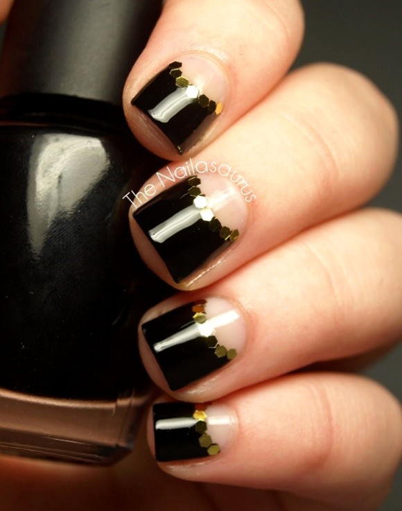 50 Half Moon Nail Art Designs To Try Ecstasycoffee