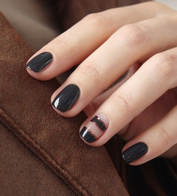 40 Best Shellac Nail Art Design Ideas Ecstasycoffee: 40 Best Fall/Winter Nail Art Designs To Try This Year