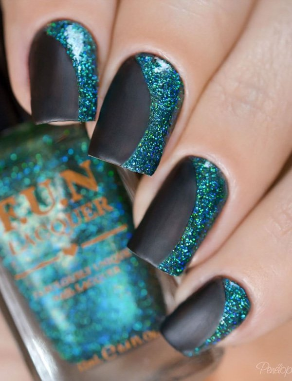 40 Best Fall Winter Nail Art Designs To Try This Year 187 Ecstasycoffee