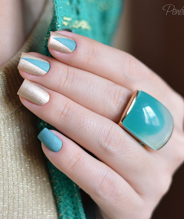 fall winter nail art design