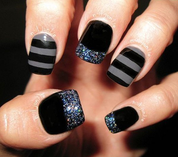 40 Amazing Classic Nail Art Designs » EcstasyCoffee