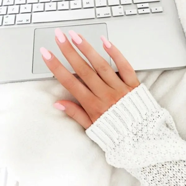 50 Most Beautiful Pink And White Nails Designs Ideas You Wish To Try ...