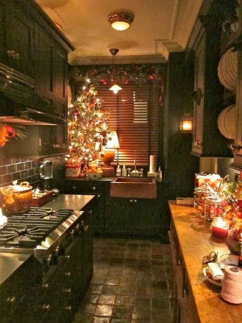 46 best christmas kitchen decorating ideas - How to decorate your kitchen ...