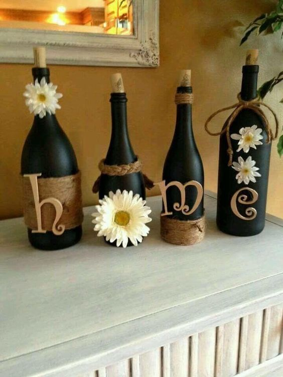 cute-craft-for-recycling-your-old-wine-bottles