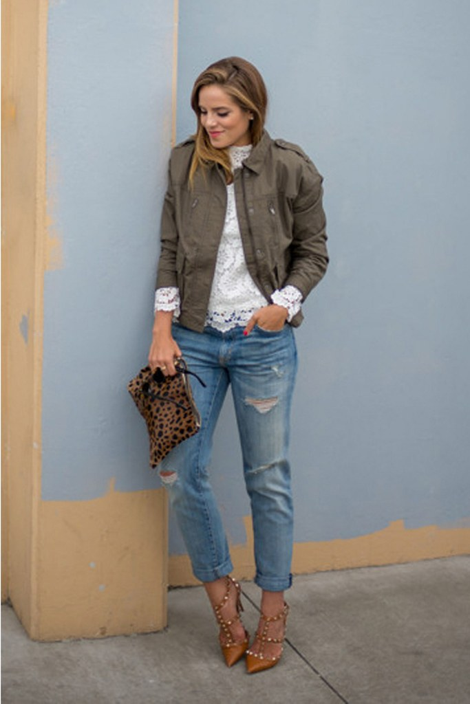 55 Fashionable Outfit Ideas How To Wear Denim Jacket ...
