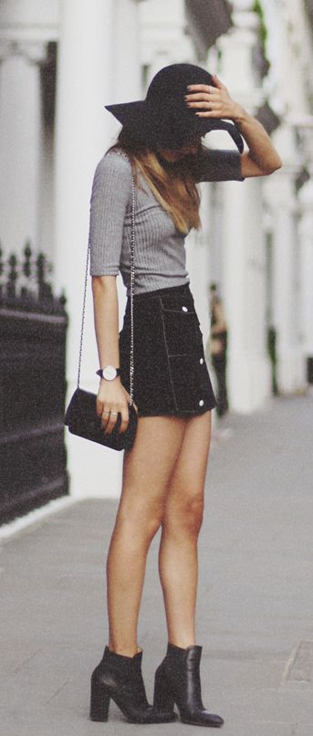 40 lovely denim skirts to wear now » ecstasycoffee