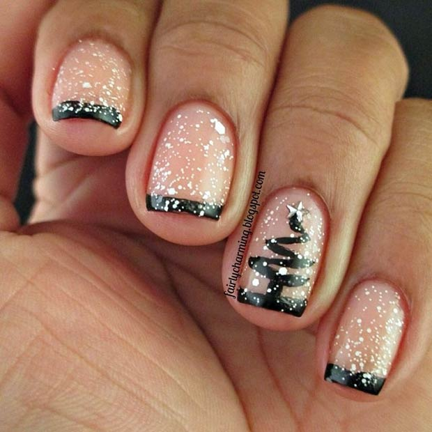 elegant-christmas-nails