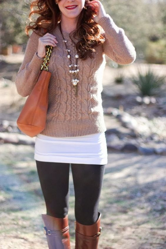 28 Short Sweater Outfit Ideas For Fall Amp Winter
