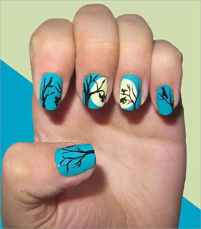45 Fall Nail Art Designs Ideas You\'ll Love » EcstasyCoffee