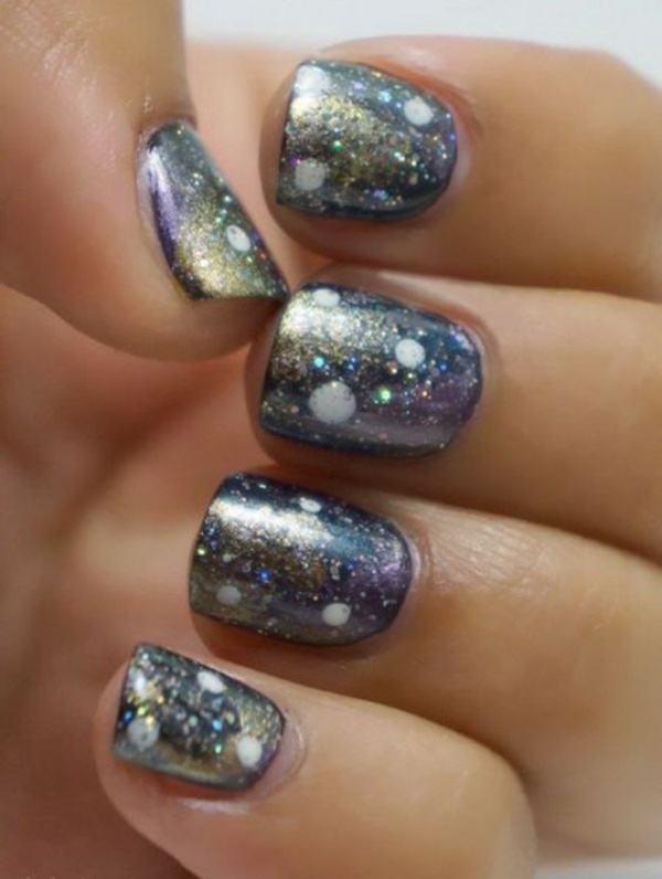 65 incredible glitter accent nail art ideas you need to