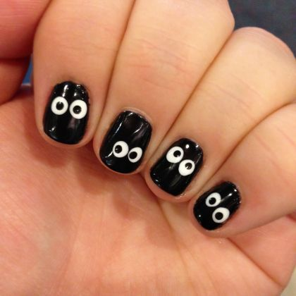 80 cute halloween nail art ideas you can do at home