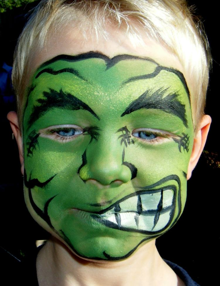 30 Scary And Unique Kids\u0027 Halloween Makeup Ideas » EcstasyCoffee