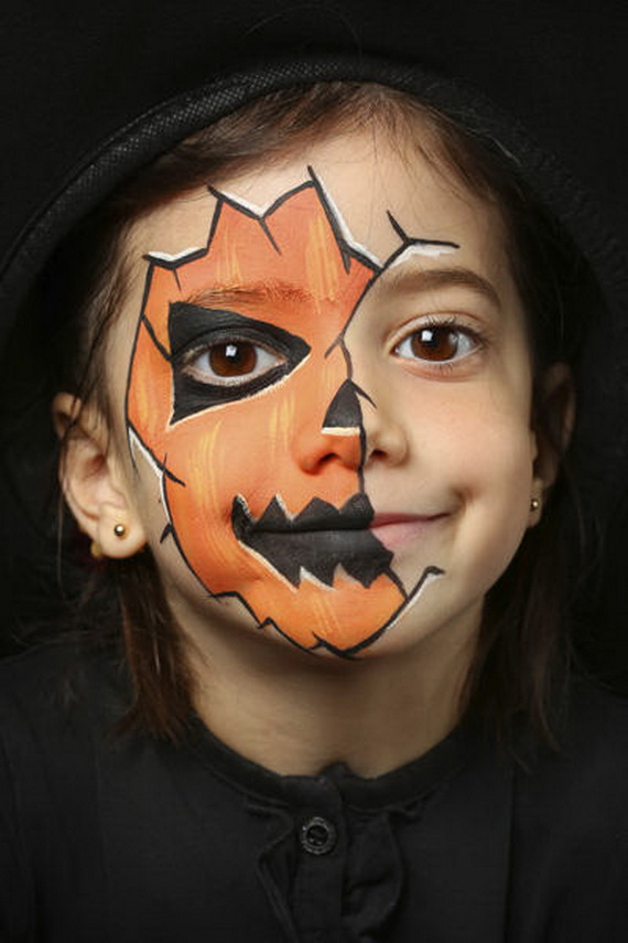 Halloween Makeup Ideas For Kids.30 Scary And Unique Kids Halloween Makeup Ideas Ecstasycoffee