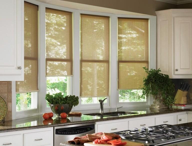 33 Stylish Kitchen Window Blinds Ideas » EcstasyCoffee