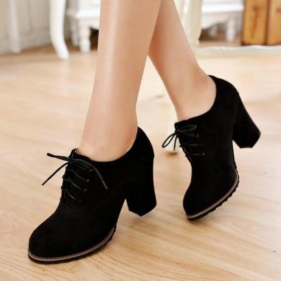 40 Gorgeous Oxford Heels You'd Love To Wear » EcstasyCoffee