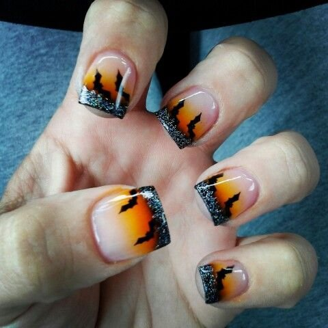 80 Cute Halloween Nail Art Ideas You Can Do At Home ...
