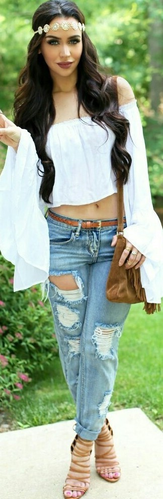 White Summer Blouses
