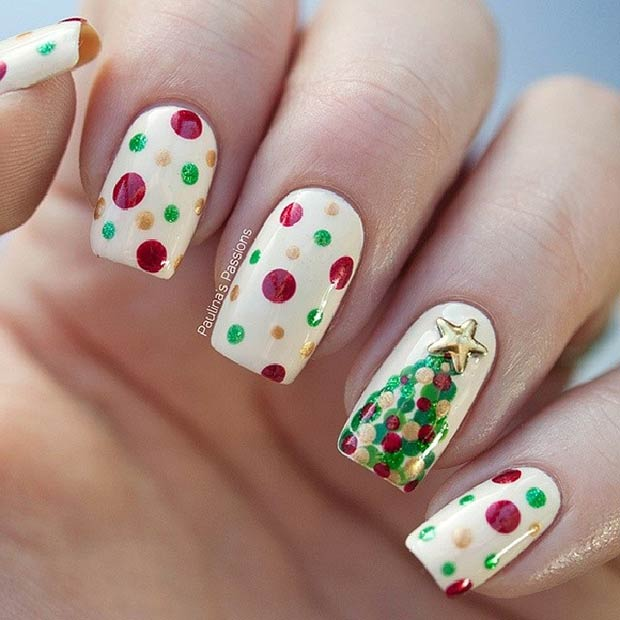 polka-dots-christmas-tree