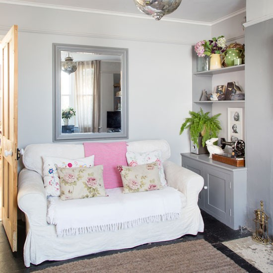 Country Blue Living Room: 40 Gorgeous Shabby Chic Decorating Ideas » EcstasyCoffee