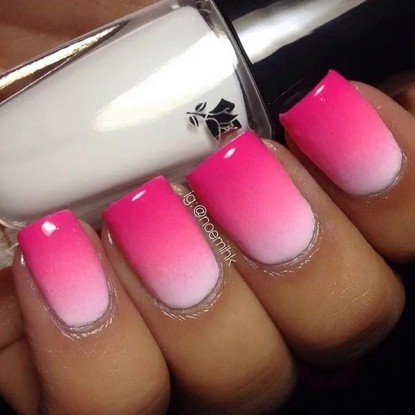 50 Most Beautiful Pink And White Nails Designs Ideas You