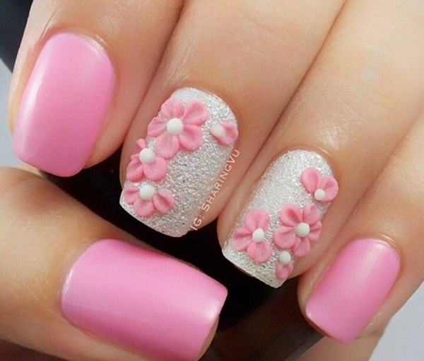 50 Most Beautiful Pink And White Nails Designs Ideas You ...
