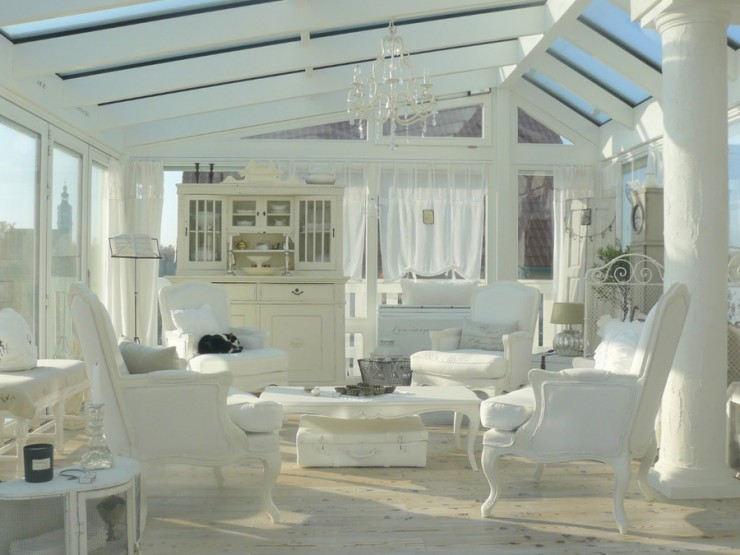 ... Shabby Chic Living Room 1 ...