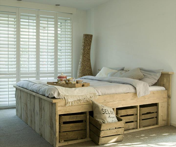 premium selection 14624 90bc8 40 Creative Wood Pallet Bed Design Ideas » EcstasyCoffee