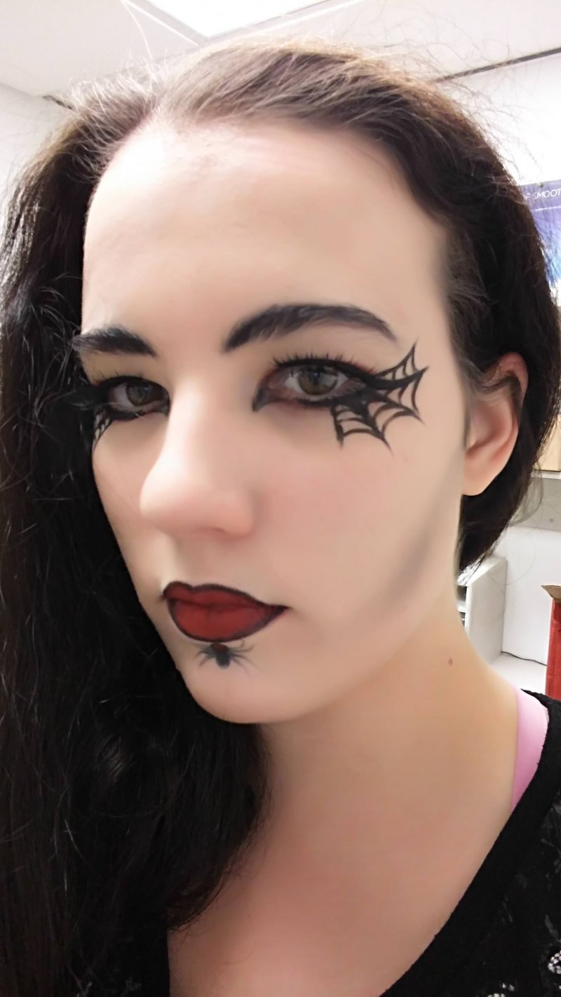50+ Scary And Unique Halloween Makeup Ideas That Are