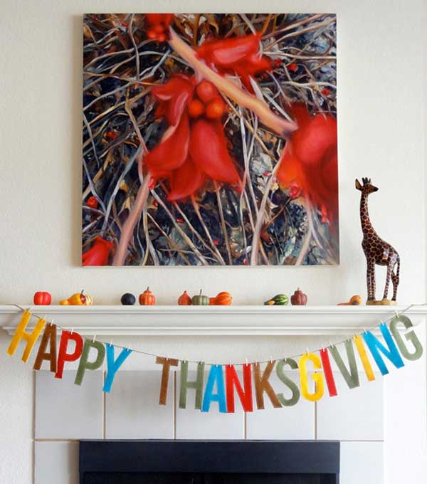 Homemade Thanksgiving Decorations For The Home: 50 Cool And Inexpensive DIY Thanksgiving Decorations Ideas