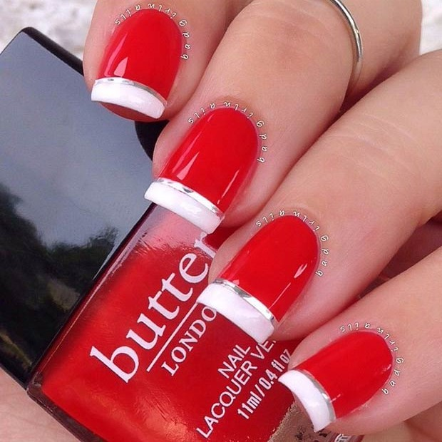 Christmas Diy Nail Ideas And More Of Our Manicures From: 60 Awesome Christmas Nail Art Designs
