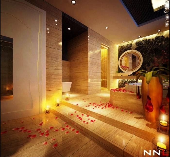 awesome romantic bathroom | 40 Gorgeous Romantic Bathroom Designs Ideas » EcstasyCoffee