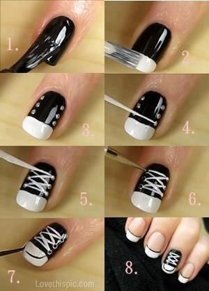 50 Cute Easy Nail Art Tutorials Just For You Ecstasycoffee