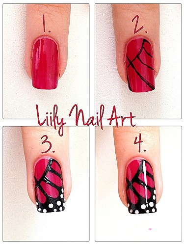 50 cute  easy nail art tutorials just for you » ecstasycoffee