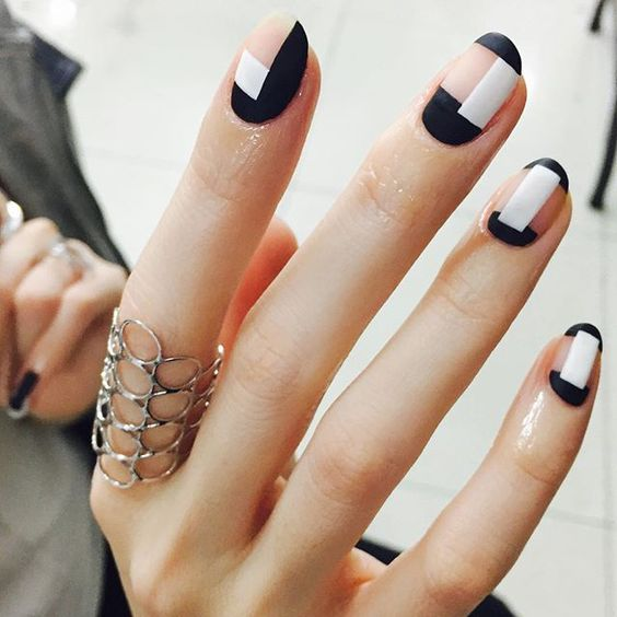 50 Beautiful Stylish And Trendy Nail Art Designs For: 50 Gorgeous Minimalist Nail Art Designs » EcstasyCoffee
