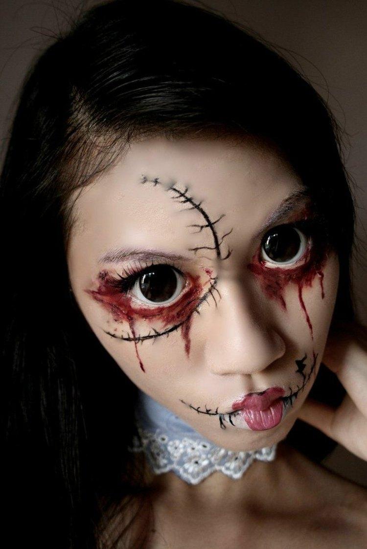 scary-makeup-girl