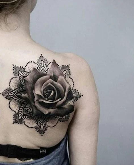 Beautiful Flower Tattoos: 70 Creative And Beautiful Flower Tattoo Designs For Women