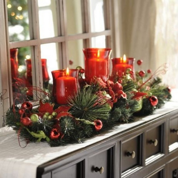 26 Creative Christmas Candles Decoration Ideas