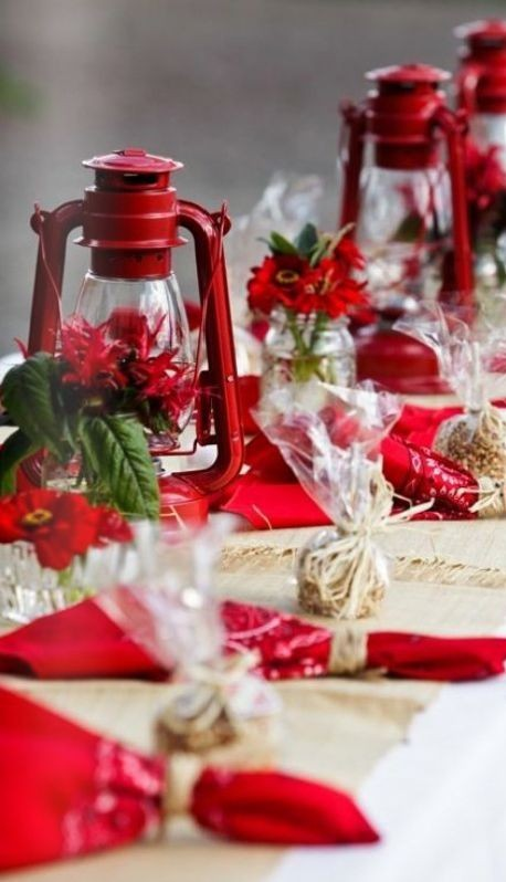 Christmas Table Decorating Ideas & 40 Best Christmas Table Decorating Ideas