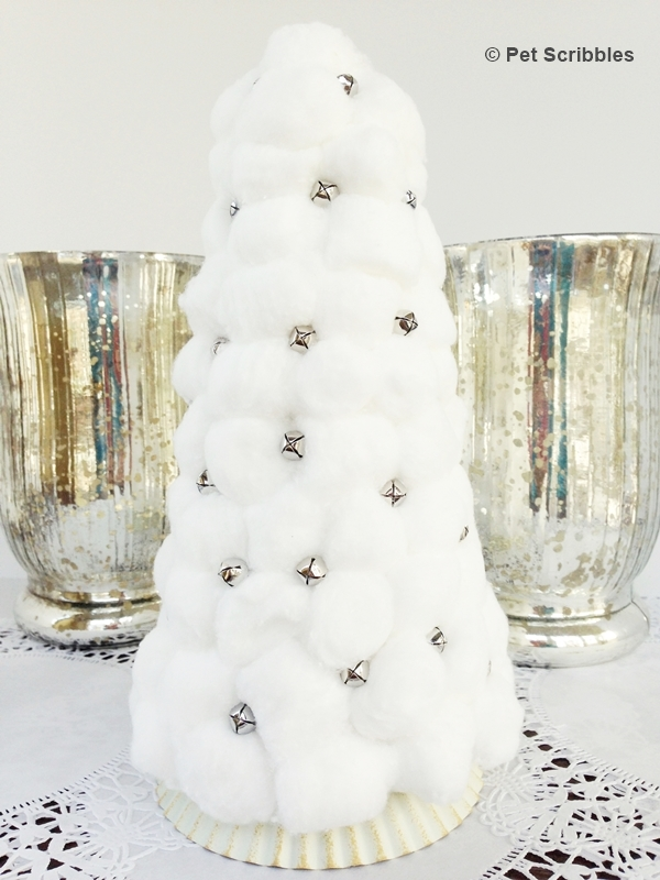 30 creative white christmas tree decorating ideas - Cotton ballspractical ideas ...