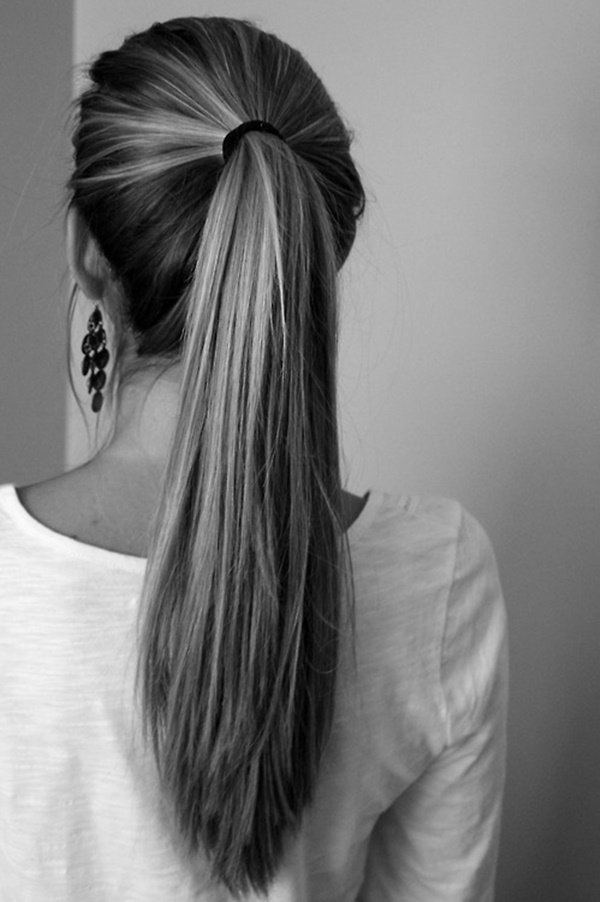 50 Incredibly Easy Ponytail Hairstyles For Long Hair You