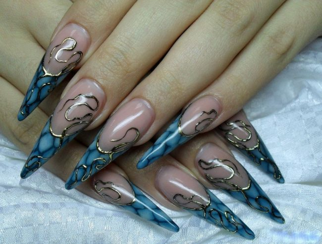 43 Cute Nail Art Designs With Stones For The Perfect